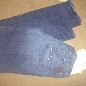 7 for all Mankind Maternity jeans 29